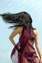 Bikini hairdance Royalty Free Stock Photo
