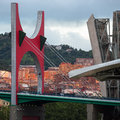 Bilbao - Puente de la Salve - Spain Royalty Free Stock Photo