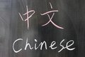 Bilingual Chinese Word
