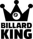 Billard King Eight Ball