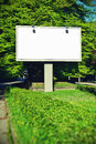 Billboard with empty screen toning effect Stock Photos