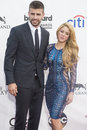 Billboard music awards las vegas may soccer player gerard pique l and recording artist shakira attend the at the mgm grand garden Royalty Free Stock Photography