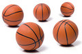 Bille au basket-ball Images libres de droits
