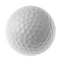 Bille de golf Image libre de droits