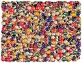 Billiard balls background Royalty Free Stock Photo
