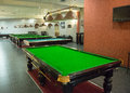 Billiard room Royalty Free Stock Image