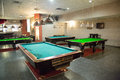 Billiard room Stock Images