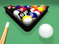 Billiard Set Stock Images