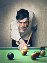 Billiards Player Stock Photos