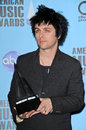 Billie joe armstrong at the american music awards press room nokia theater los angeles ca Stock Photos