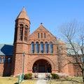 Billings Memorial Library, University of Vermont, Burlington Royalty Free Stock Photo