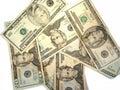 Bills currency us Στοκ Φωτογραφία