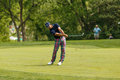 Billy horschel at the memorial tournament on th fairway Royalty Free Stock Photos