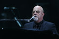 Billy joel new york apr singer songwriter performs in concert at madison square garden on april in new york city Stock Photography