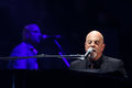 Billy joel new york apr singer songwriter performs in concert at madison square garden on april in new york city Royalty Free Stock Photos