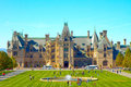 The biltmore estate is largest privately owned and tourist attraction in asheville north carolina owned by Stock Photo