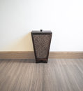 Bin from bamboo Royalty Free Stock Photo