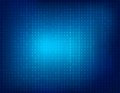 Binary background illustration of a clean blue abstract Royalty Free Stock Photo