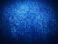 Binary code background Royalty Free Stock Photo