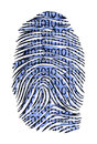Binary Code ID Stock Image