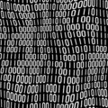 Binary Code Pattern Stock Images