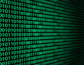 Binary data Stock Photo