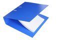 Binder folder on white background Stock Images