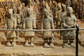 Bing ma yong terracotta army terra cotta the or the warriors and horses is a collection of Stock Photo