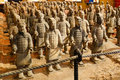 Bing ma yong terracotta army terra cotta the or the warriors and horses is a collection of Royalty Free Stock Photos