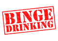 BINGE DRINKING Royalty Free Stock Photo