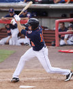 Binghamton Mets batter Matt Den Decker Royalty Free Stock Image