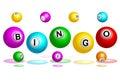 Bingo Balls Text