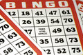 Bingo Cards Royalty Free Stock Photography
