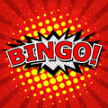 Bingo! Comic Speech Bubble, Cartoon
