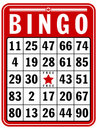 Bingo Score Card Royalty Free Stock Photo