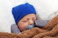 Binky baby Royalty Free Stock Photo