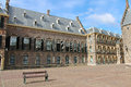 The Binnenhof at Den Haag, Royalty Free Stock Photo