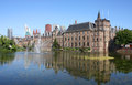 Binnenhof den haag the netherlands is a complex of buildings in Royalty Free Stock Images