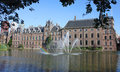 Binnenhof den haag the netherlands is a complex of buildings in Stock Image