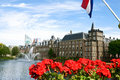 Binnenhof, Dutch Parliament, The Hague Royalty Free Stock Image