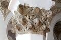 Binnenland van een oude synagoge detail Stock Fotografie