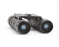 Binoculars isolated on white background Royalty Free Stock Photo