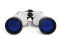 Binoculars on a white background Royalty Free Stock Images