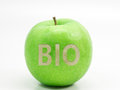 Bio apple ii an for your healthy Royalty Free Stock Photos