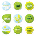 Bio and healthy food labels