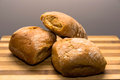 Bio natural bread homemade Royalty Free Stock Photo