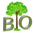 Bio tree Royalty Free Stock Image