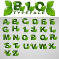Bio Typeface For Your Eco And Organic Lettering