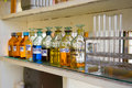 Biochemical laboratory Royalty Free Stock Images