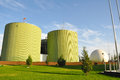 Biogas engineering inner mongolia in china Stock Images
